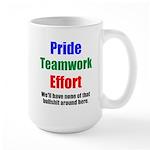 Teamwork Pride Large Mug