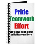 Teamwork Pride Journal