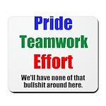 Teamwork Pride Mousepad