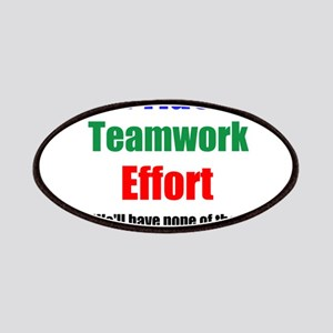 Teamwork Pride Patches