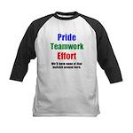 Teamwork Pride Kids Baseball Jersey