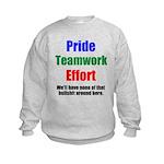 Teamwork Pride Kids Sweatshirt