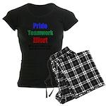Teamwork Pride Women's Dark Pajamas