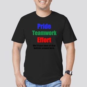 Teamwork Pride Men's Fitted T-Shirt (dark)