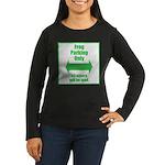 Frog Parking Women's Long Sleeve Dark T-Shirt