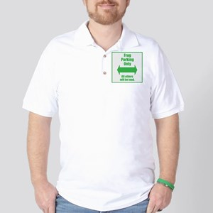 Frog Parking Golf Shirt