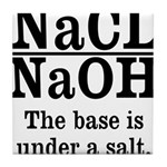 Base A Salt Tile Coaster