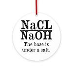 Base A Salt Ornament (Round)
