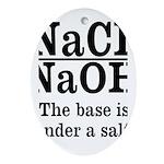 Base A Salt Ornament (Oval)