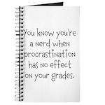 Procrastination Grade Journal