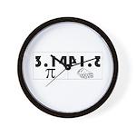 Pi Pie Wall Clock