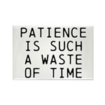 Patience Rectangle Magnet (10 pack)