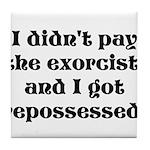 Exorcist Tile Coaster