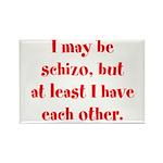 Schizo Rectangle Magnet (10 pack)