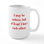 Schizo Large Mug