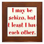 Schizo Framed Tile