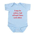 Schizo Infant Bodysuit