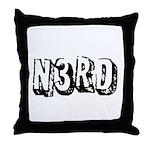 N3RD Throw Pillow