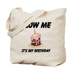 Birthday Blow Tote Bag