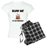 Birthday Blow Women's Light Pajamas
