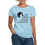 Monkey Poop Women's Light T-Shirt