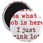 Coffee Job Magnet