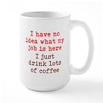 Coffee Job Large Mug