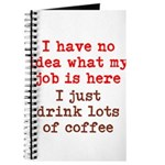 Coffee Job Journal