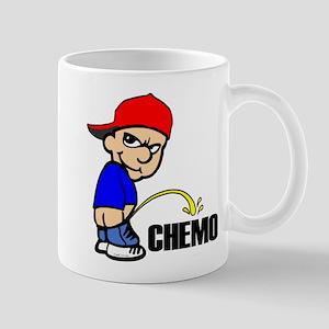 Piss On Chemo -- Cancer Awareness Mug