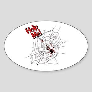 Help Me! Sticker (Oval)