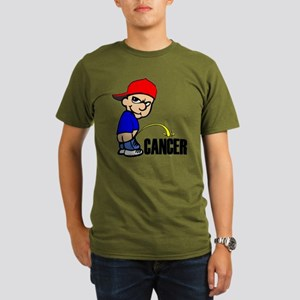 Piss On Cancer -- Cancer Awareness Organic Men's T
