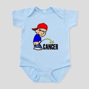 Piss On Cancer -- Cancer Awareness Infant Bodysuit