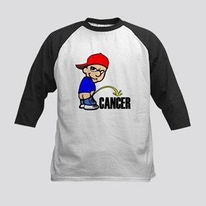 Piss On Cancer -- Cancer Awareness Kids Baseball J