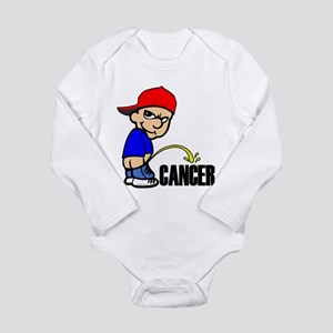 Piss On Cancer -- Cancer Awareness Long Sleeve Inf