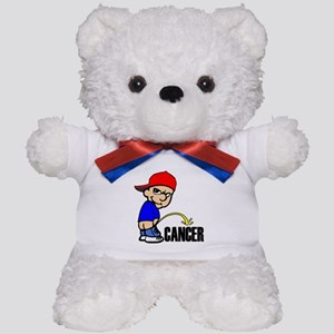 Piss On Cancer -- Cancer Awareness Teddy Bear
