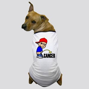 Piss On Cancer -- Cancer Awareness Dog T-Shirt