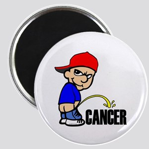 Piss On Cancer -- Cancer Awareness Magnet