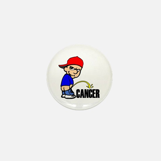 Piss On Cancer -- Cancer Awareness Mini Button
