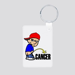 Piss On Cancer -- Cancer Awareness Aluminum Photo