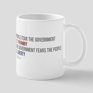 """""""Tyranny vs. Liberty"""" Mug"""