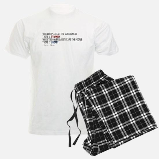 """""""Tyranny vs. Liberty"""" Pajamas"""