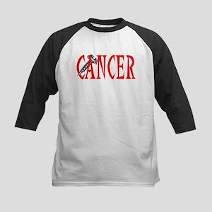 Screw Cancer -- Cancer Awareness Kids Baseball Jer