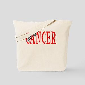 Screw Cancer -- Cancer Awareness Tote Bag