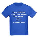 I'm So Stressed Kids Dark T-Shirt
