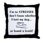 I'm So Stressed Throw Pillow