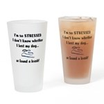 I'm So Stressed Drinking Glass