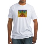 Orchid Seed Fitted T-Shirt