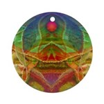 Orchid Seed Ornament (Round)