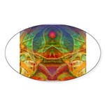 Orchid Seed Sticker (Oval 50 pk)