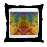 Orchid Seed Throw Pillow